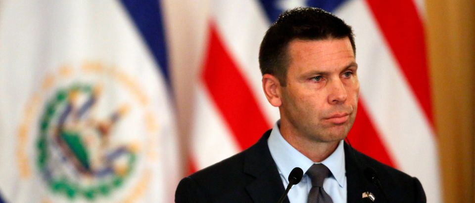U.S. DHS acting Secretary McAleenan visits El Salvador in San Salvador
