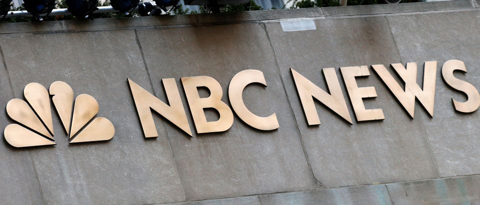 A sign is seen outside the set of the NBC News Today Show at Rockefeller Center in New York City, U.S., Nov. 29, 2017. (REUTERS/Brendan McDermid)