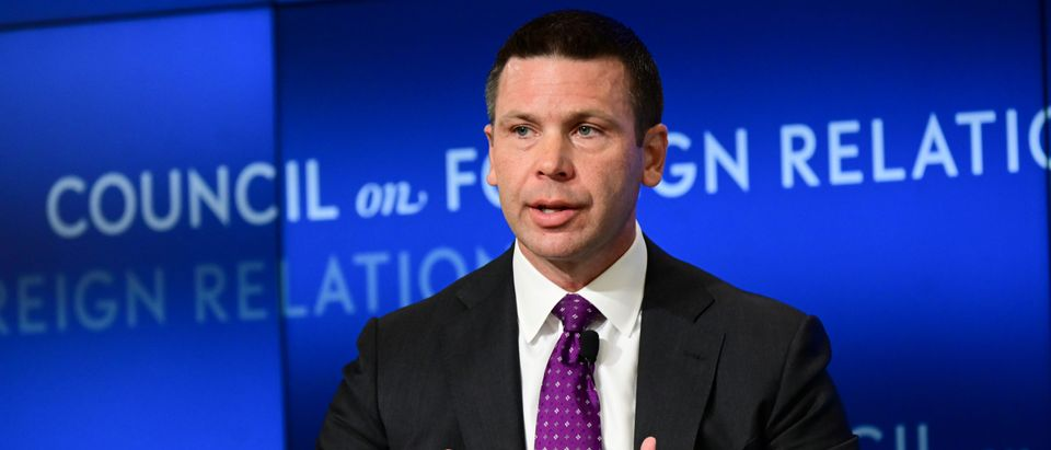 U.S. acting DHS Secretary McAleenan speaks at a Council of Foreign Relations forum in Washington