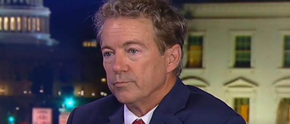 Rand Paul on Trump's Syria policy (Fox News screengrab)