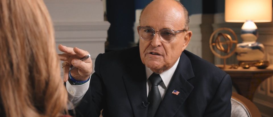President Donald Trump's personal lawyer Rudy Giuliani