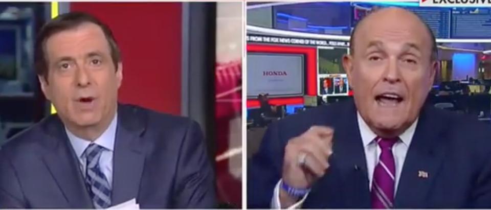 "Rudy Giuliani appears with Howard Kurtz on ""Media Buzz."" Screen Shot/Fox News"
