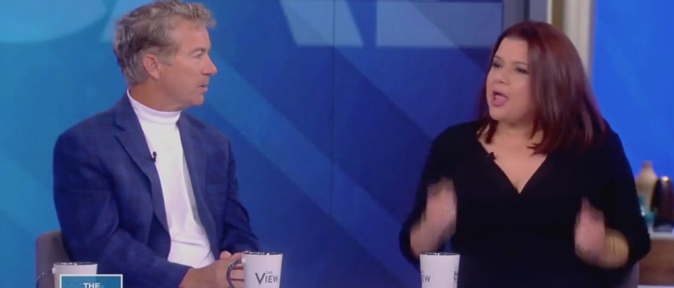 "Rand Paul and Ana Navarro on ""The View""/ ABC"