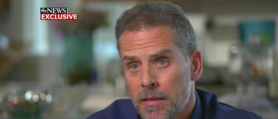 A CBS panel discussed Hunter Biden's interview with ABC News. (Screenshot CBS News)