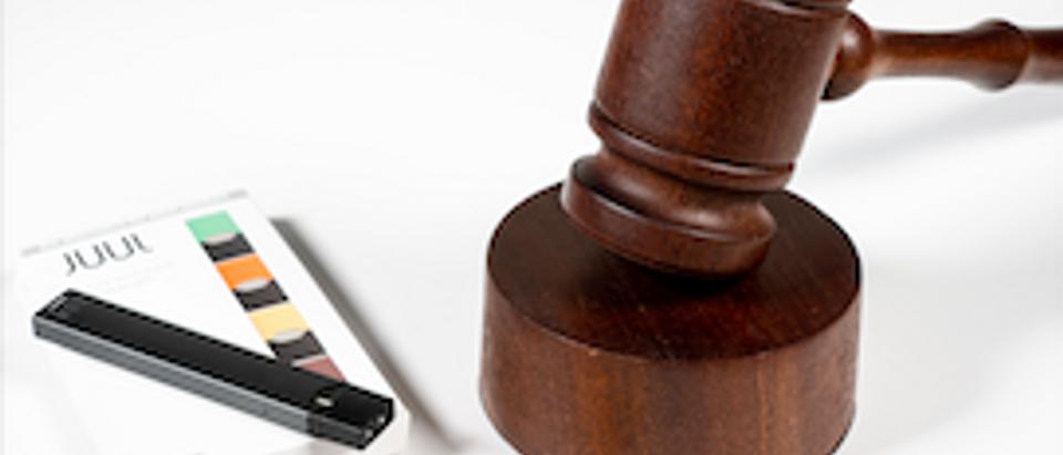 Juul lawsuit. (Shutterstock/Steve Heap)