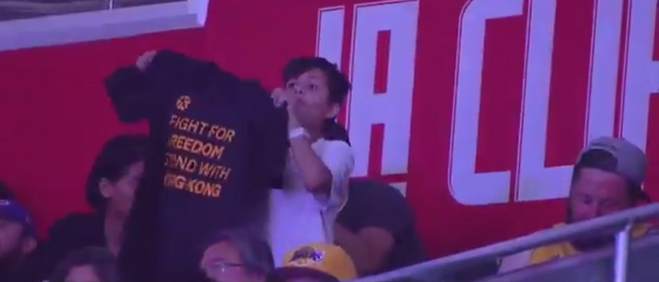 Hong Kong Protesters Overshadow NBA Opening Night