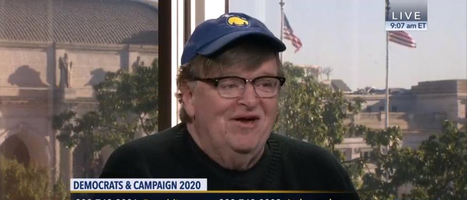 Michael Moore Appears on C-Span