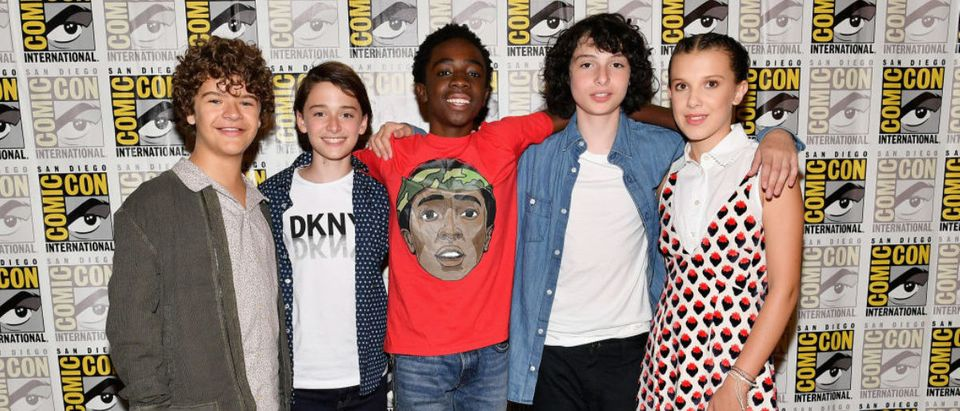 "Comic-Con International 2017 - Netflix's ""Stranger Things"" Press line"
