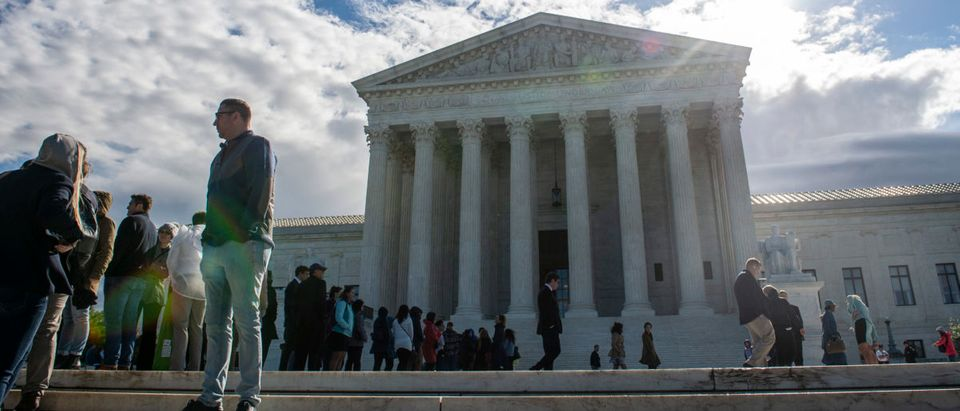 The Supreme Court as seen on April 15, 2019. (Eric Baradat/AFP/Getty Images)