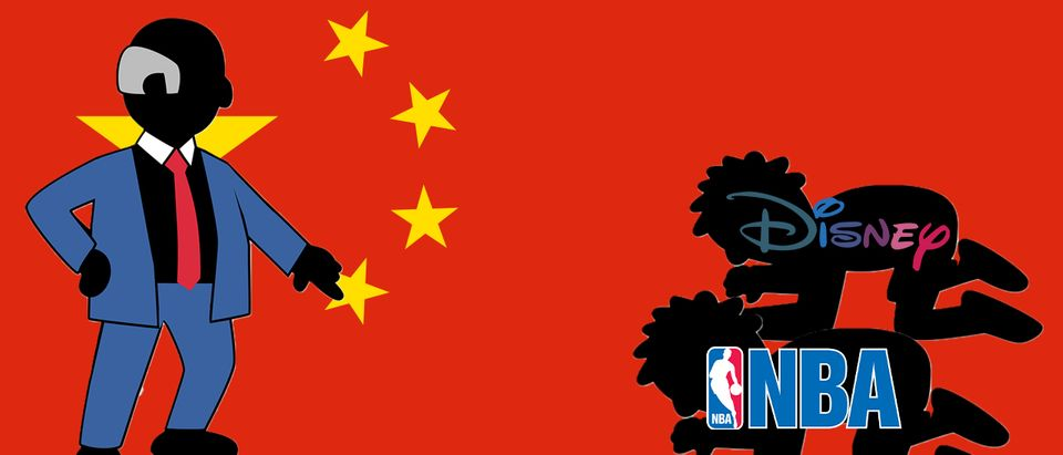 China, NBA, Disney (Getty Images, Shutterstock, Daily Caller)