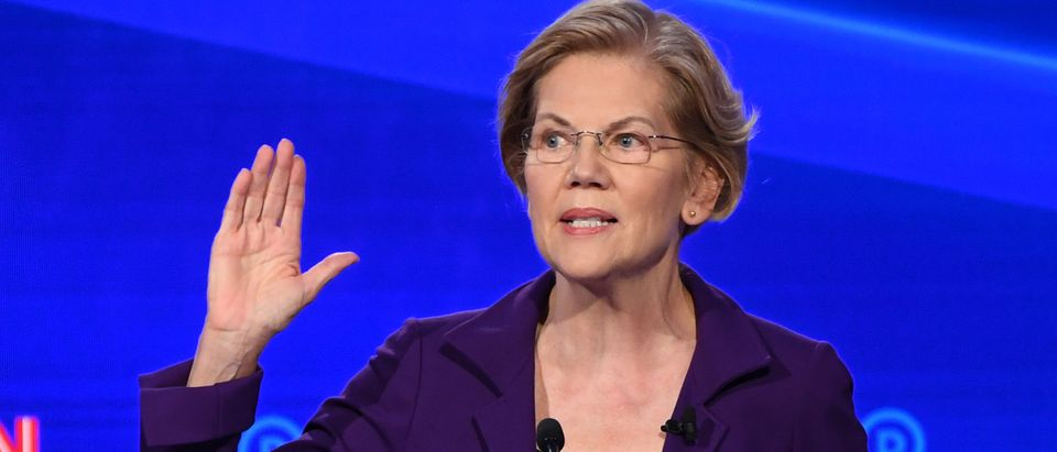 Massachusetts Sen. Elizabeth Warren is pictured. (SAUL LOEB/AFP via Getty Images)