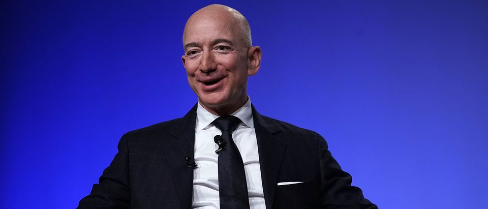 Amazon CEO Jeff Bezos is pictured. (Alex Wong/Getty Images)