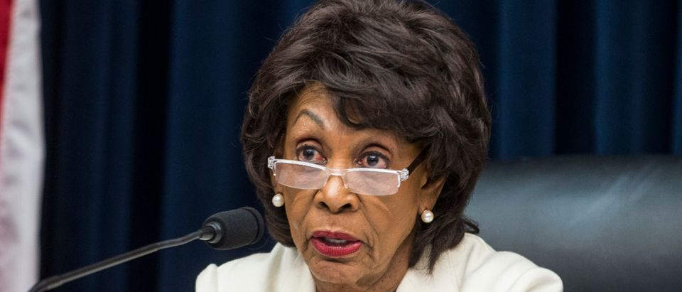 House Financial Services Committee Chairman Maxine Waters (D-CA) (Zach Gibson/Getty Images)