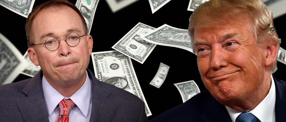Mick Mulvaney, Donald Trump (Getty Images, Daily Caller)