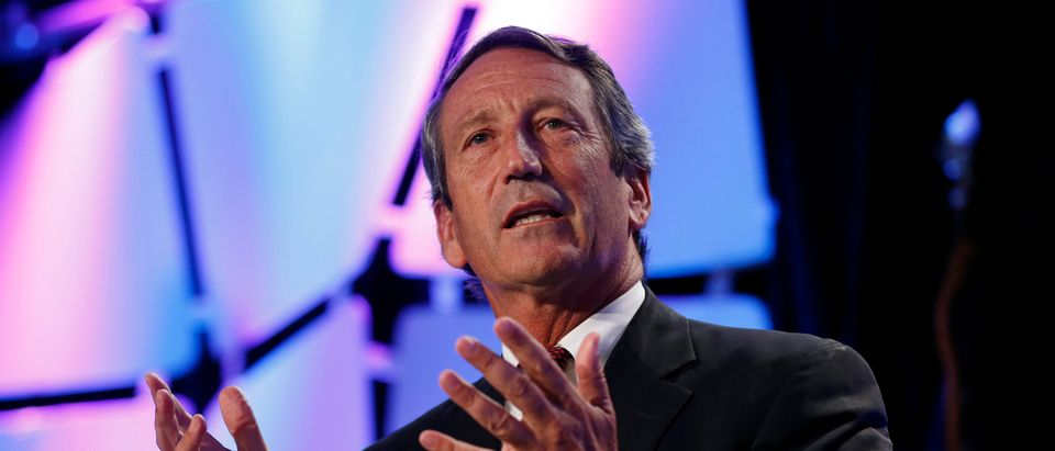 U.S. Rep. Mark Sanford (R-SC) speaks at the Liberty Political Action Conference (LPAC) in Chantilly, Virginia September 19, 2013. REUTERS/Kevin Lamarque