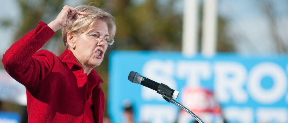 Elizabeth Warren. (Shutterstock/Andrew Cline)
