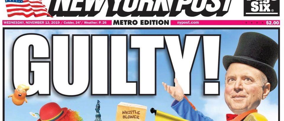 New York Post, Nov. 13, 2019
