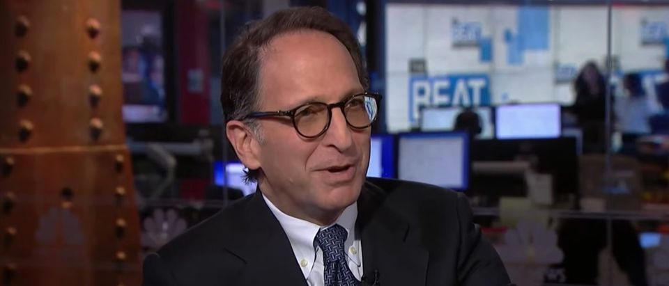 Former Mueller prosecutor Andrew Weissmann, Nov. 13, 2019. (YouTube screen capture/MSNBC)