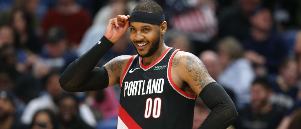 NBA: Portland Trail Blazers at New Orleans Pelicans