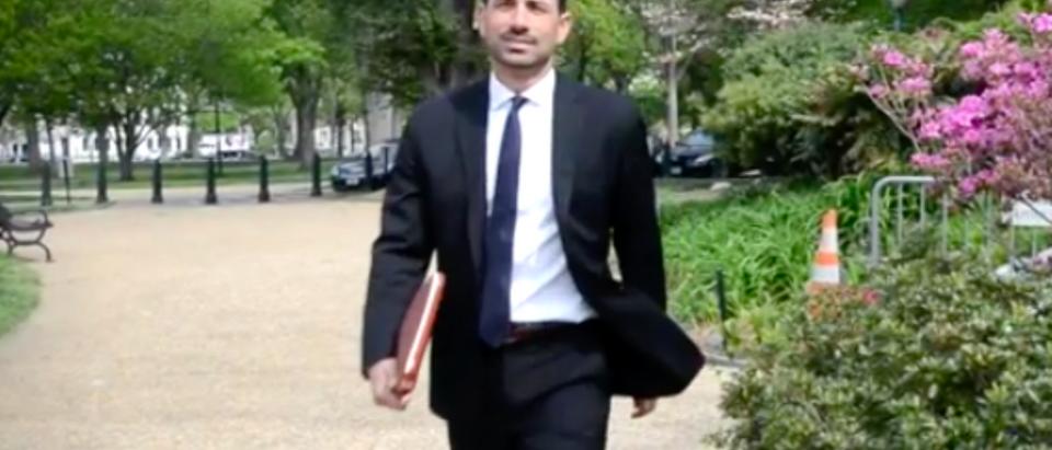 Chad Wolf Walking (2) YouTube screenshot