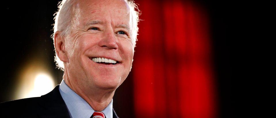 Presidential Candidate Joe Biden Delivers Economic Policy Speech In Scranton, PA