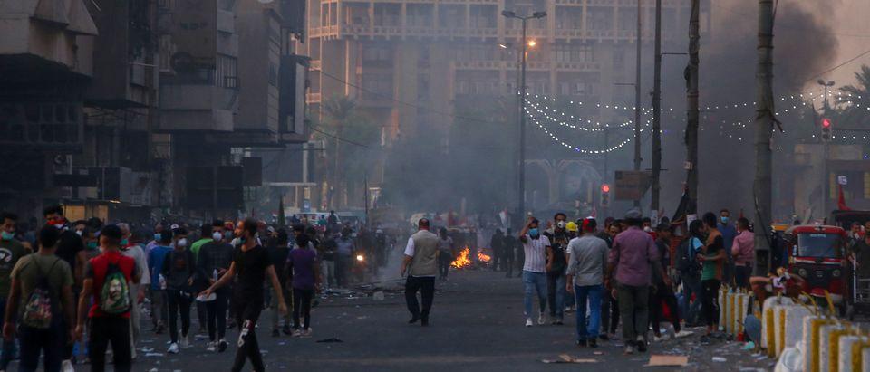 IRAQ-POLITICS-PROTESTS