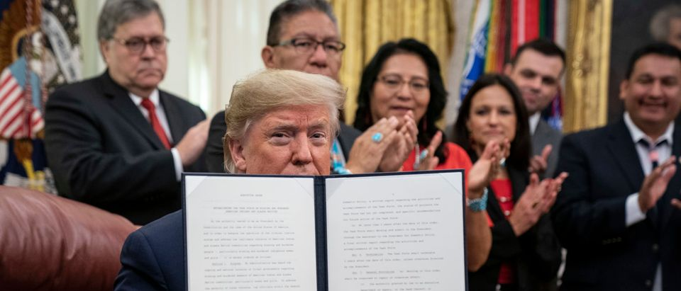 Trump Signs Order For Task Force For Missing And Murdered Native Americans