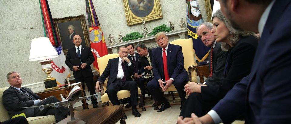 GOP Senators Meet With President Trump And Turkish President Erdogan