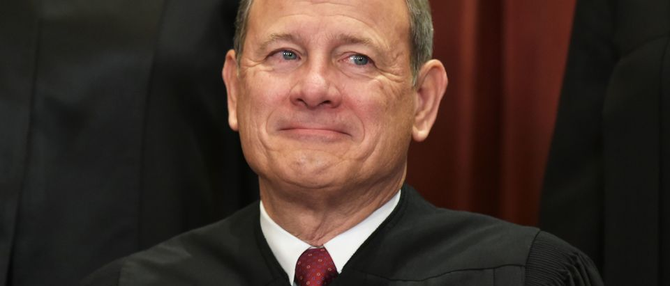 Chief Justice John Roberts at the Supreme Court on November 30, 2018. (Mandel Ngan/AFP/Getty Images)