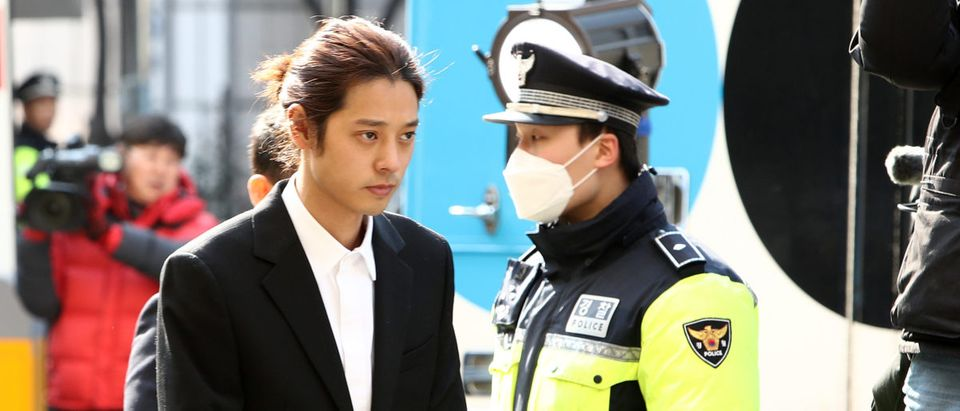 Jung Joon-young Appears At Seoul Police Station