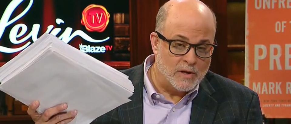 Mark Levin blasts Adam Schiff (Fox News screengrab)