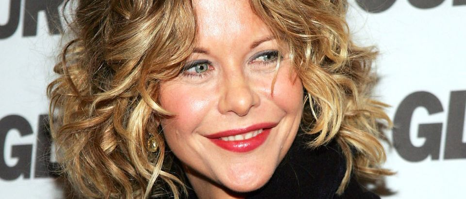 Actress Meg Ryan attends a party for Glamour Magazine's first-ever Hero Issue at davidburke & donatella March 9, 2005 in New York City. (Photo by Evan Agostini/Getty Images)