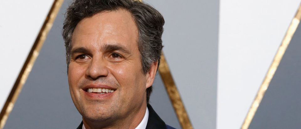 Ruffalo arrives at the 88th Academy Awards in Hollywood