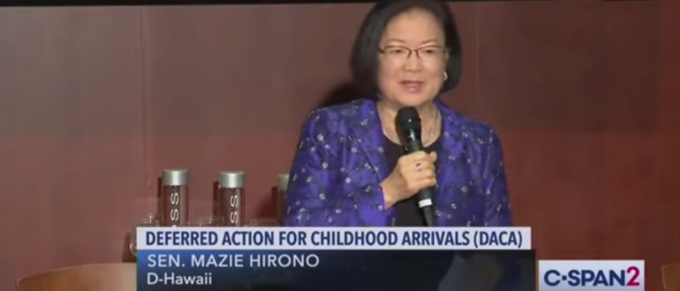 Mazie Hirono Admits Climate Change Is 'A Religion And Not A Science'