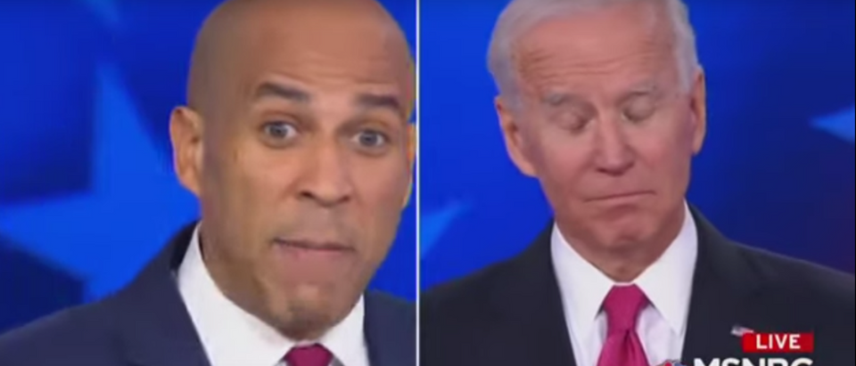 'I Thought You Might Have Been High': Booker Attacks Biden Over Marijuana Stance