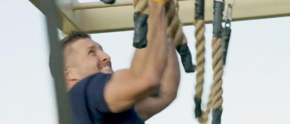 Tim Tebow (Credit: Screenshot/Vimeo https://vimeo.com/370909232/6db9173f7a)