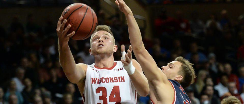 NCAA Basketball: Wisconsin at St. Mary's