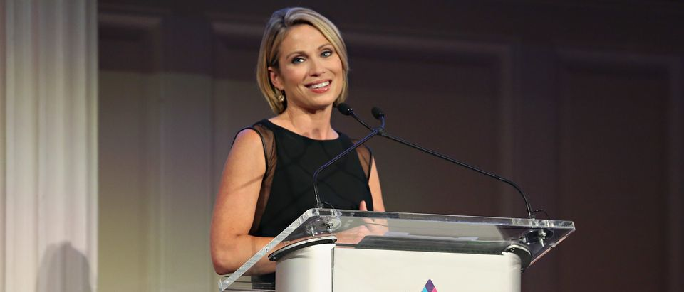 Amy Robach speaks at the Mount Sinai Breast Service Luncheon on October 14, 2015 in New York City. (Cindy Ord/Getty Images for Mount Sinai Health System)