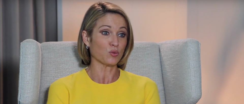 CBS News reportedly fired the staffer potentially responsible for the leaked Amy Robach video. (Screenshot YouTube OncLiveTV)