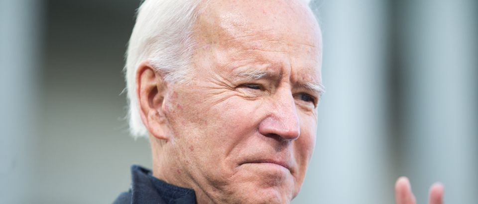 Presidential Candidate Joe Biden Files Paperwork For New Hampshire Primary