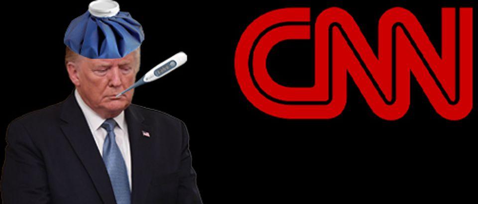 Donald Trump, CNN logo (Getty Images, Shutterstock, Daily Caller)
