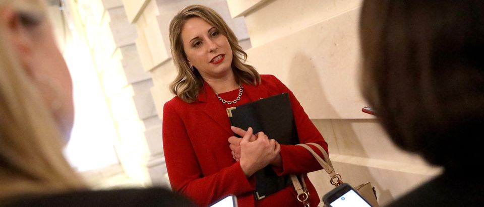 Rep. Katie Hill is pictured. (Win McNamee/Getty Images)