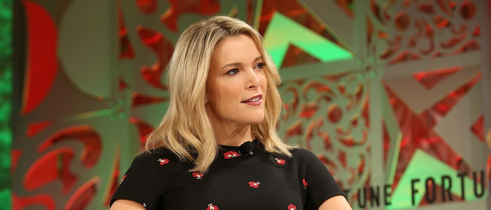 Megyn Kelly speaks onstage at the Fortune Most Powerful Women Summit 2018 at Ritz Carlton Hotel on October 2, 2018 in Laguna Niguel, California. (Phillip Faraone/Getty Images for Fortune)