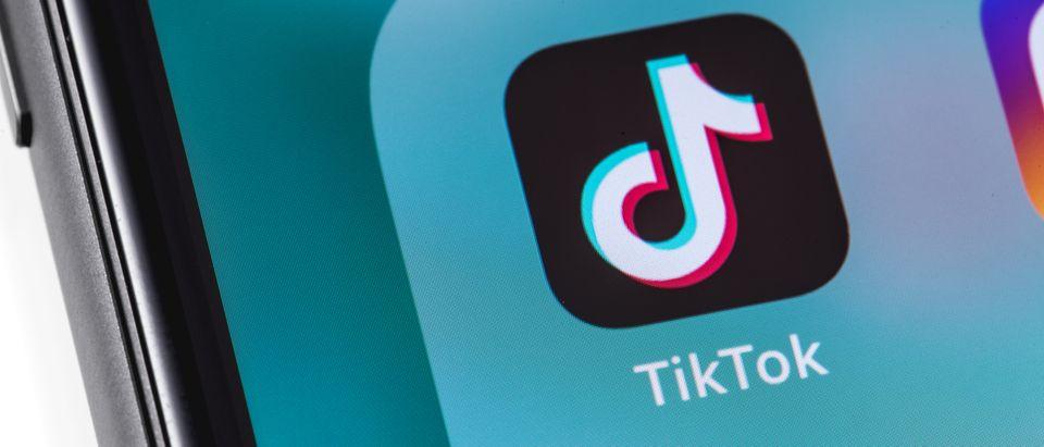A girl is suspended from TikTok. Primakov, Shutterstock