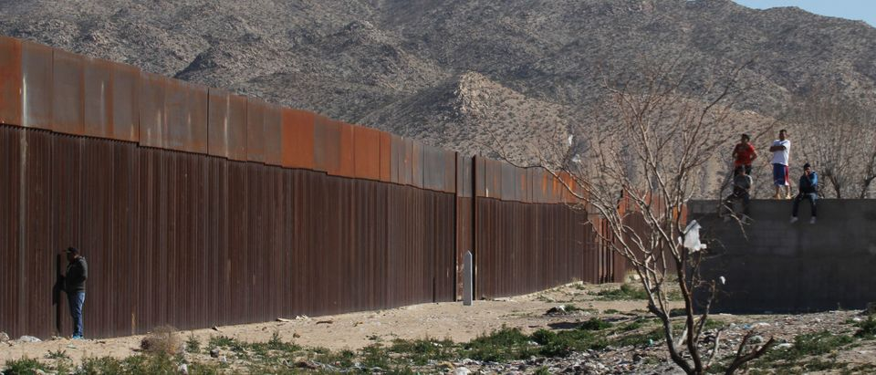 MEXICO-US-BORDER-DRILL