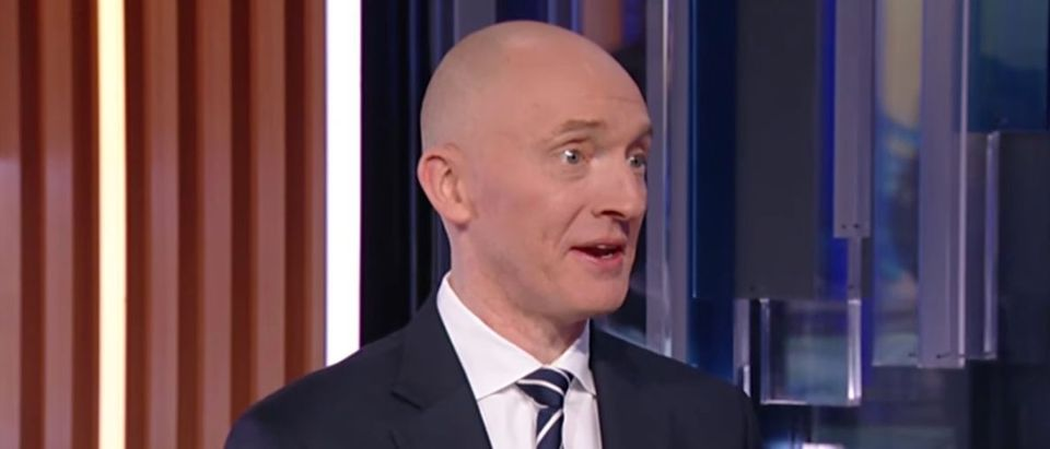 Carter Page on Fox Business, Dec. 12, 2019. (YouTube screen capture/Fox Business)