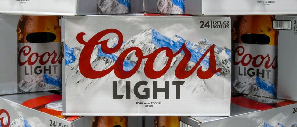 Coors Light (Credit: Shutterstock/The Toidi)