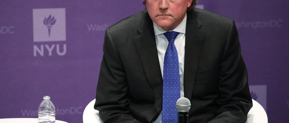Former White House counsel Don McGahn at the NYU Global Academic Center in Washington, D.C. December 12, 2019. (Alex Wong/Getty Images)