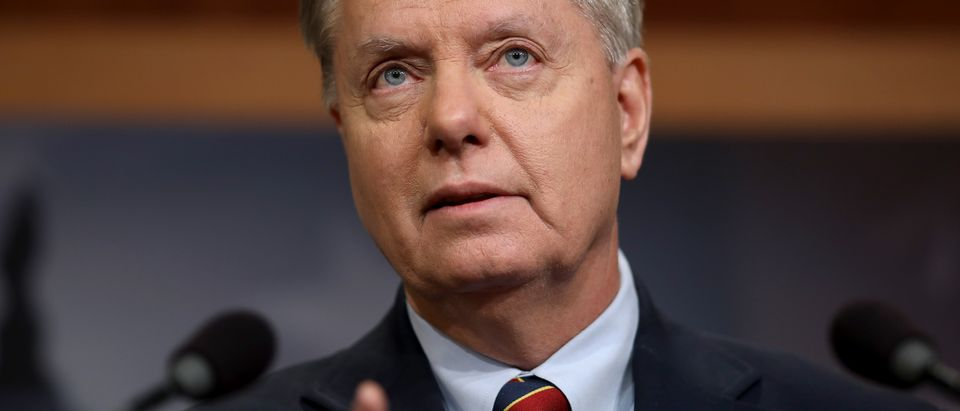 Senator Lindsey Graham Speaks On President Trump's Announcement Of Troop Withdrawal In Syria