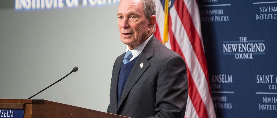 Michael Bloomberg Visits New Hampshire For Exploratory Trip